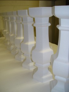 Decorative Polystyrene Balustrades 