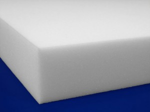 Open-cell poly padding foam