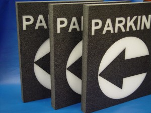 Polyethylene Custom Parking Sign