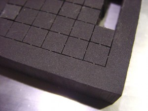 Charcoal Pick and Pull Grid Foam