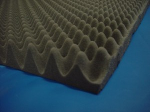 Economy Eggcrate Acoustical Foam Sheet