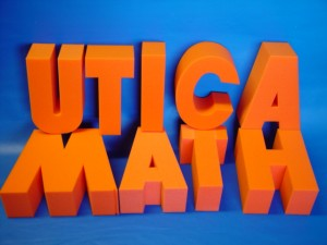 Open-Cell Colored Foam Letters