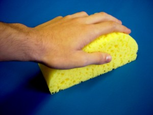 Open-Cell Painting Sponge