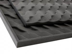 Wave-Pattern Acoustical Foam