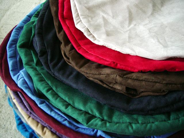Micro Suede Foam Sack Covers