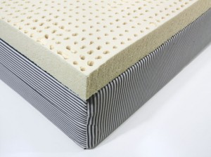 Latex Topper on a Conventional Base
