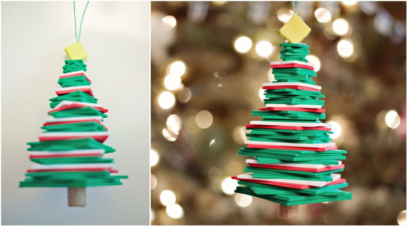 diy foam christmas tree